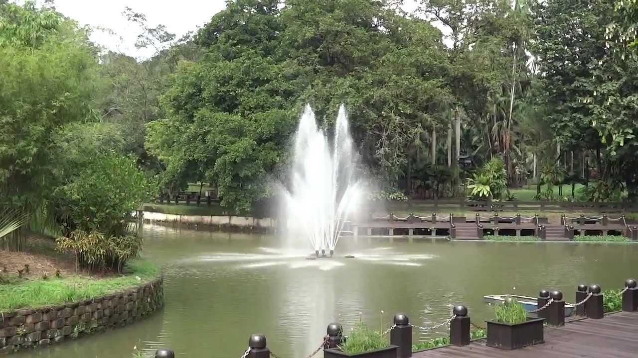 Perdana Botanical Gardens Lake Gardens Kuala Lumpur