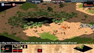 AOE Việt Trung 2015  Chung kết Solo Random , Vô Thường vs Chim Sẻ Đi Nắng Ngày 14 11 2015 Trận 1