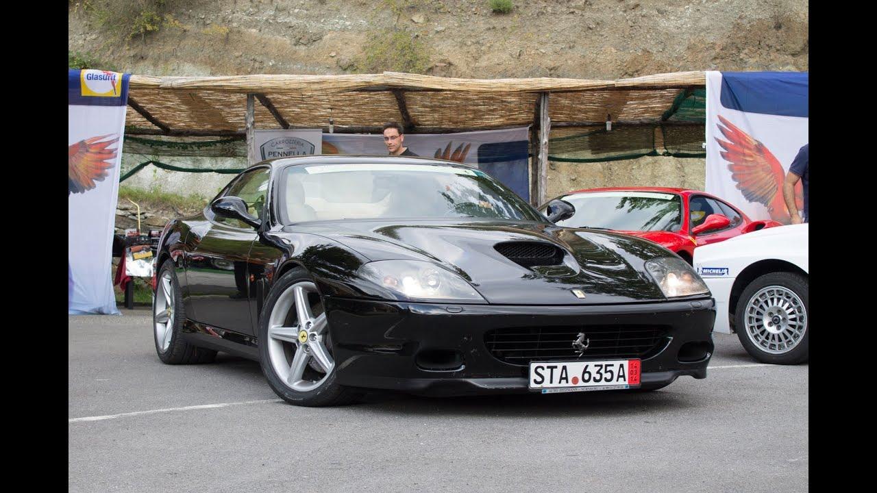 Ferrari 575m 2x Start Up Drift Pov Interior And Walkaround 2013 Hq Youtube