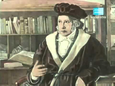 LA AVENTURA DEL PENSAMIENTO: GEORGE WILHELM FRIEDRICH HEGEL.  [ENCUENTRO].