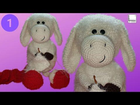 """pecorella-amigurumi-all'uncinetto-""""miss-molly""""---parte-1--"""