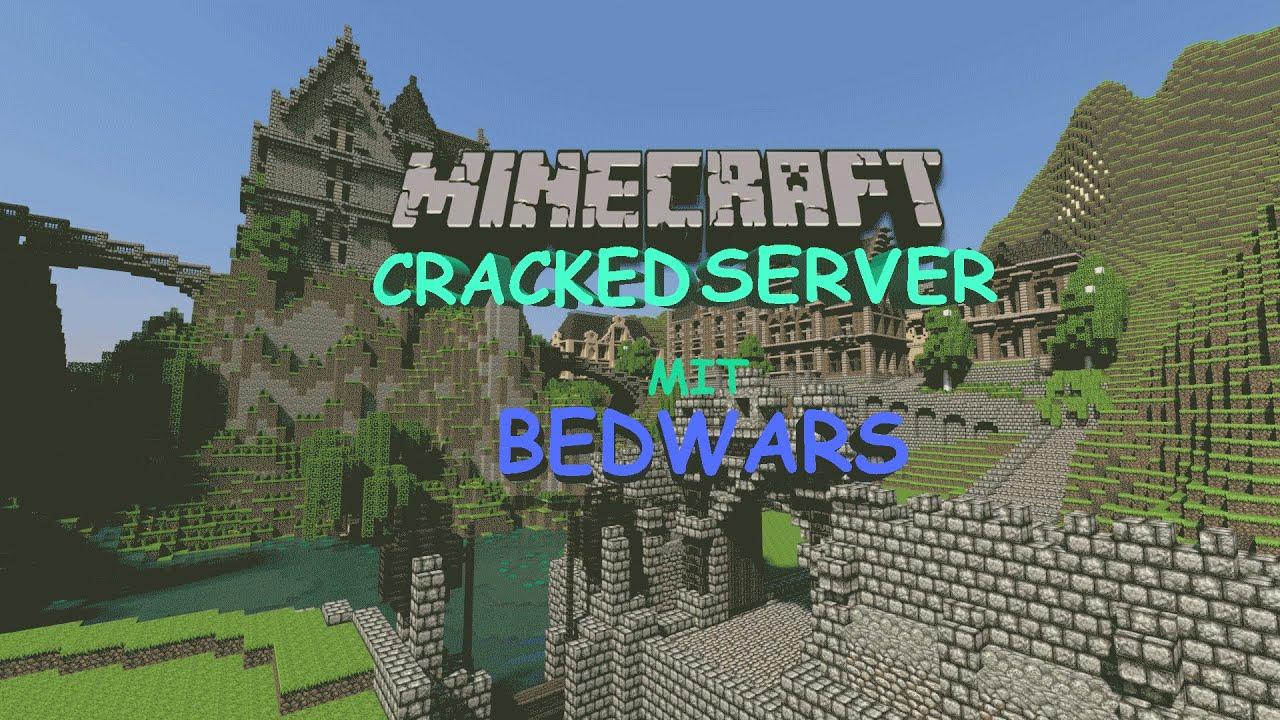 Minecraft Cracked Server mit BedWars - YouTube