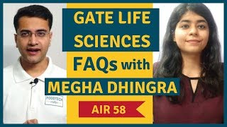 Discussing GATE Food Technology | Life Sciences (XL) FAQs | 2020