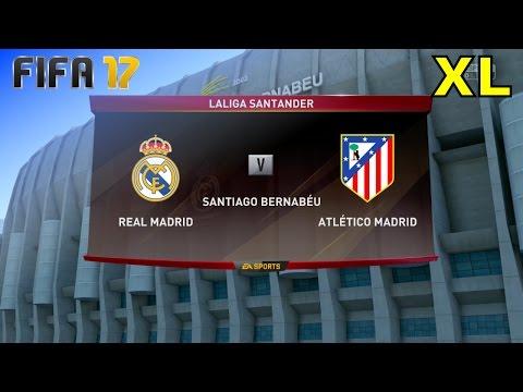 FIFA 17 - Real Madrid vs. Atlético Madrid @ Estadio Santiago Bernabéu (XL Match)