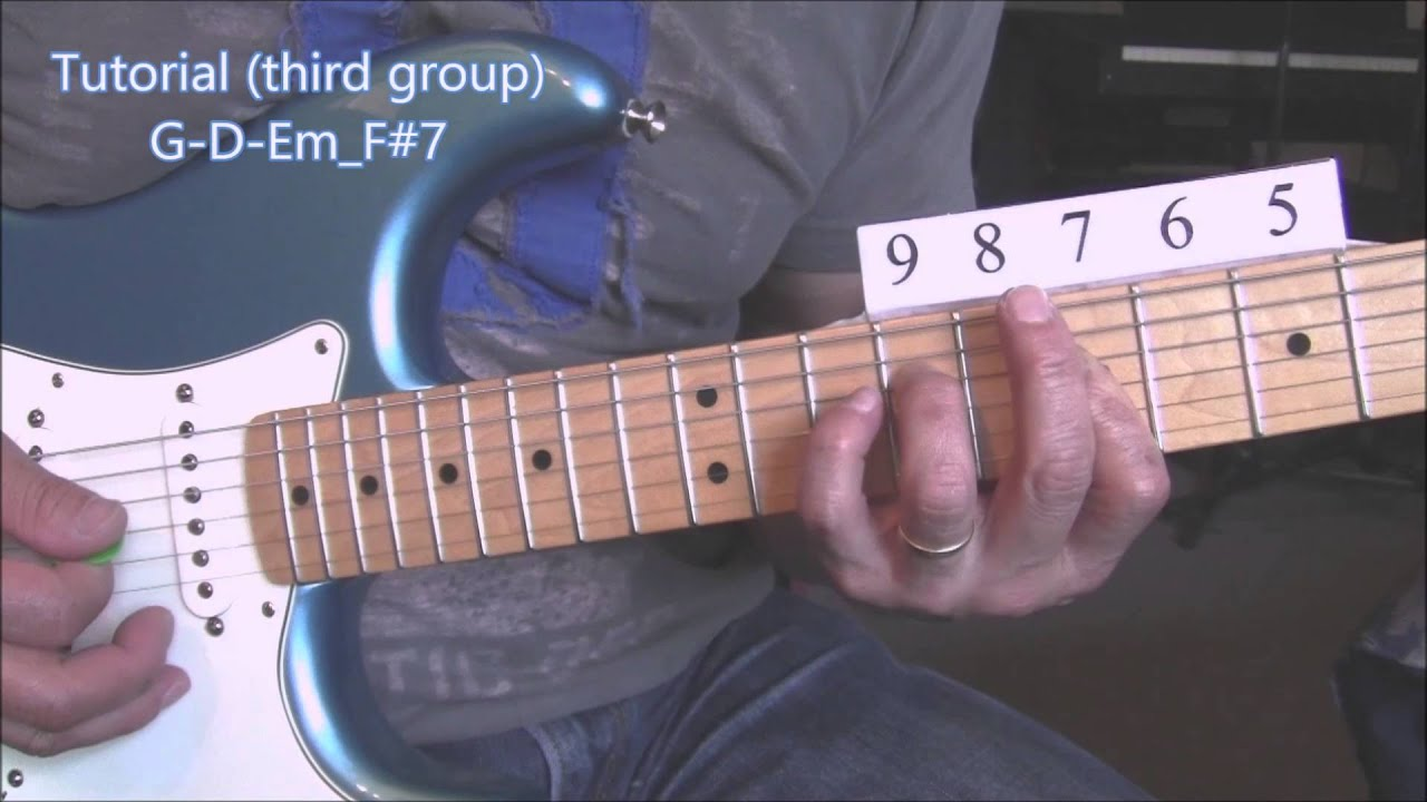 how to play wonderwall without a capo