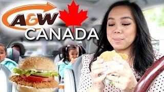 Burgers in Canada Mukbang - itsjudyslife