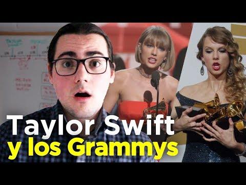 TAYLOR SWIFT y los GRAMMYS