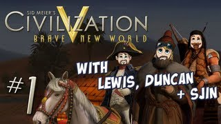 Civ 5: Brave New World - Part 1 - Gotta have Faith
