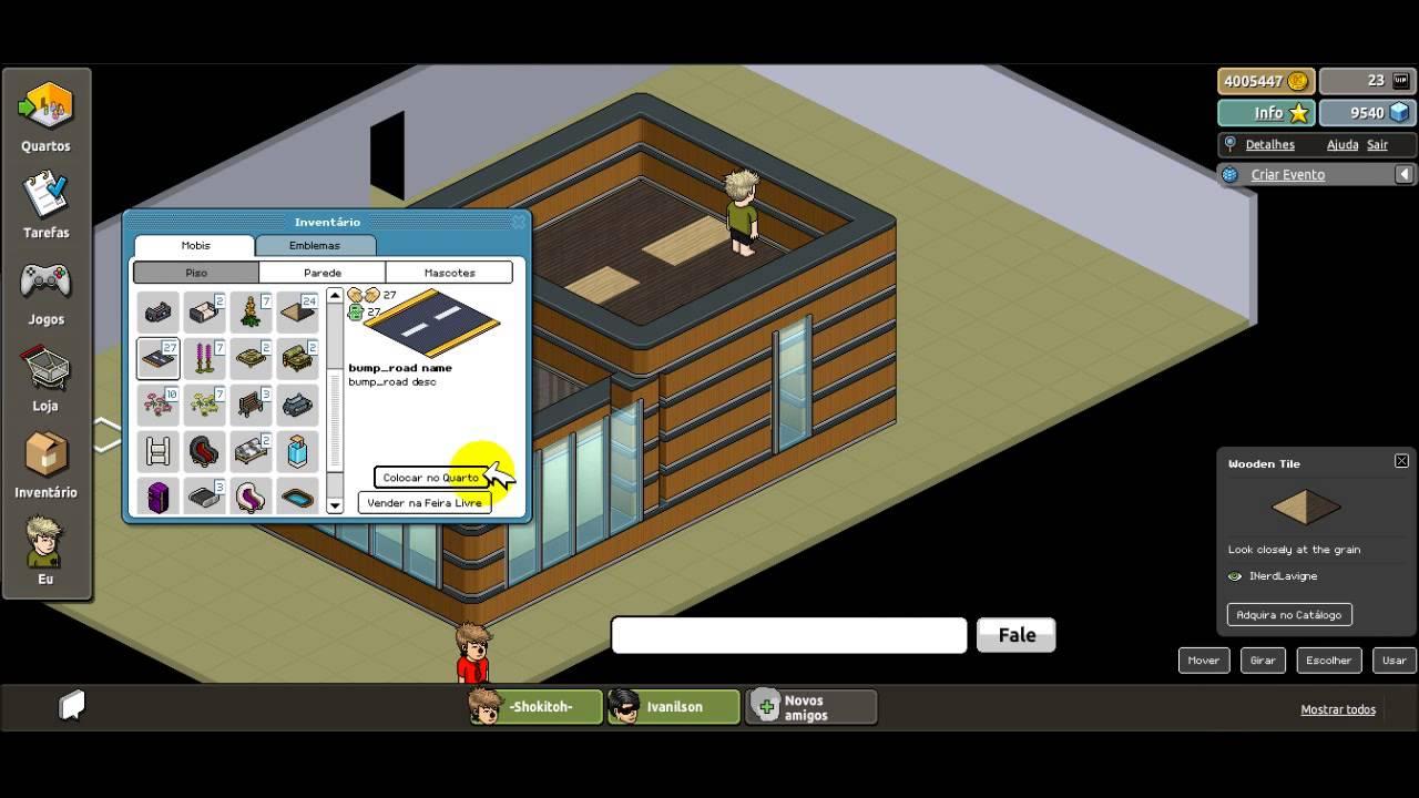 Constru o flash emtra de casa moderna by habbo creative for Casa moderna habbo
