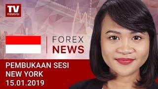 InstaForex tv news: 15.01.2019:  China akan melakukan pengukuran untuk pertumbuhan: EUR, USD, DJIA