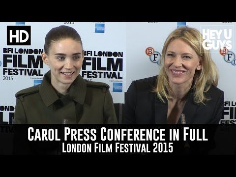 Carol Press Conference in Full - Cate Blanchett & Rooney Mar