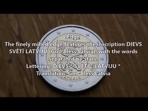 2 Euro Latgale 2017 Latvia