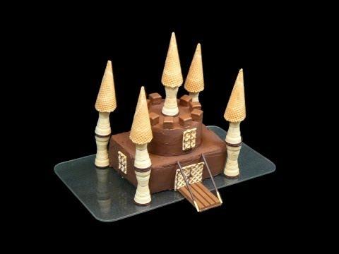 Ritterburg-Kuchen/Schlosskuchen für Jungen (Castle Cake For Boys)