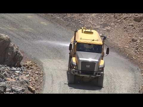 Oroville Spillway Dust Mitigation