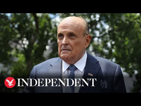 Live: Giuliani attends election hearing in Gettysburg, Pennsylvania