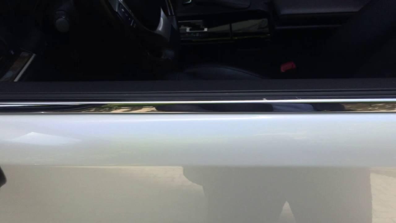 Закрытие окон и люка на Lexus ES