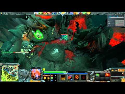 Dota 2 | Ursa and Sylla Lvl 1 Roshan Pre-game