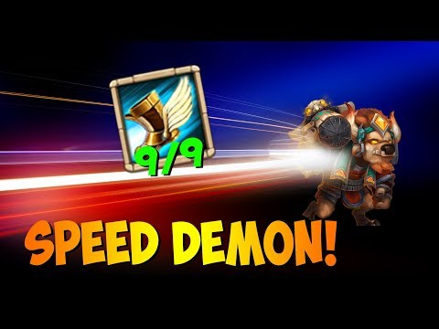 Guild Wars With 9 Sprint MINO Smashing Bases! Castle Clash