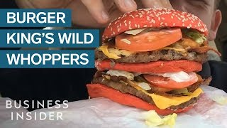 Burger King's Most Surprising Whoppers