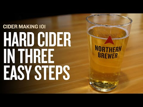 HOW TO MAKE HARD CIDER: 3 Easy Steps