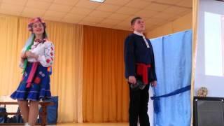 Мой сын играет кузнеца - жениха Оксаны. Гоголь.