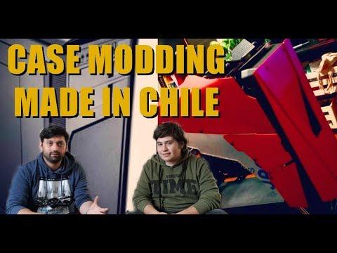 Case Modding Made in Chile - VISITA A PIGMODDING