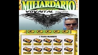 """Gratta e Vinci """"MILIARDARIOI"""" Il VINTO o no?. Мгновенная смешная лотерейка"""