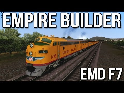 Empire Builder - EMD F7 - Train Simulator 2014