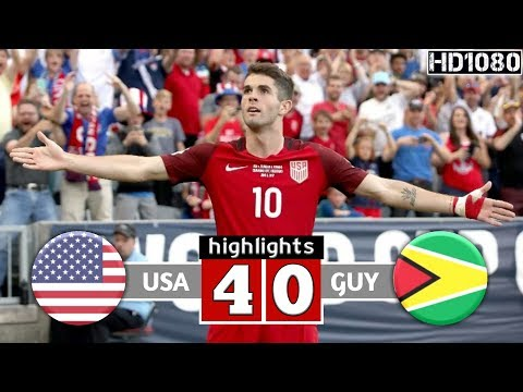 USA VS GUYANA 4-0 • ( Concacaf Gold Cup ) Extanded Highlights & All Goals 2019