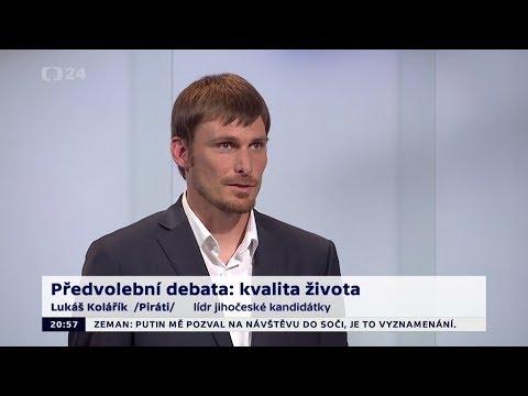 3. předvolební debata 2017 - Lukáš Kolářík (sestřih vystoupení)