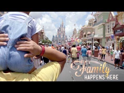 'Family Happens Here' Walt Disney World Resort TV Commercial (2015)