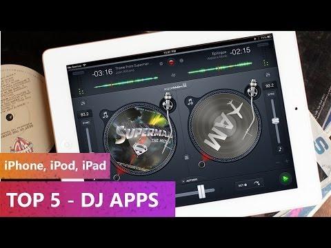 TOP 5 - DJ Apps 2013-2014 (iPhone, iPod, iPad)
