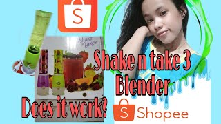 Unboxing SHAKE N Take 3 Tumble…