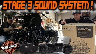 LOUD & CLEAN Rockford Fosgate Stage 3 Sound System Install '19 Harley Davidson Road Glide Special