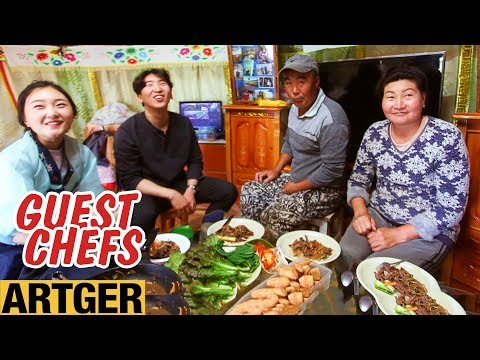 Mongolian Farmers Try Korean Food For The First Time | Guest Chefs