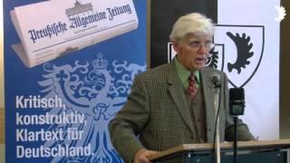Schultze-Rhonhof: Drei Migrationswellen auf Deutschland und Europa / USA hinter Systemwechselkriegen