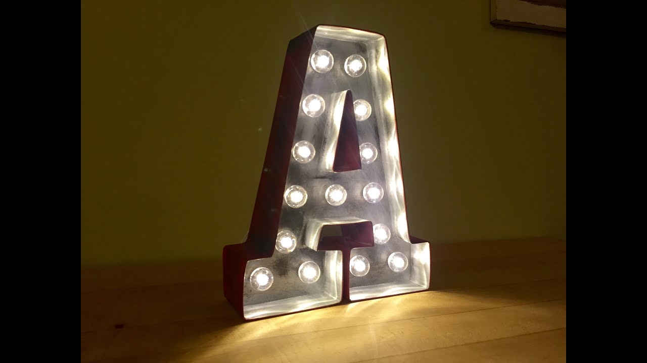 midi b silver sg letter lights lighting marquee