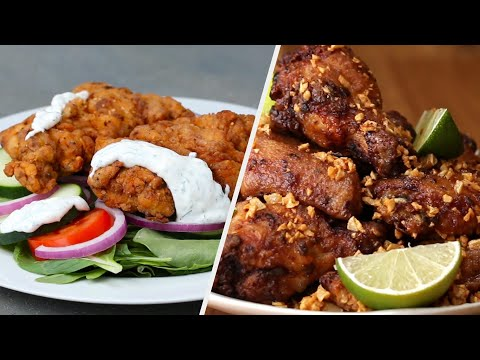 10 Delicious Fried Chicken Recipes to Make Your Mouth Water • Tasty Recipes