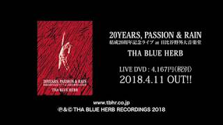 20YEARS, PASSION & RAIN / THA BLUE HERB 14-17