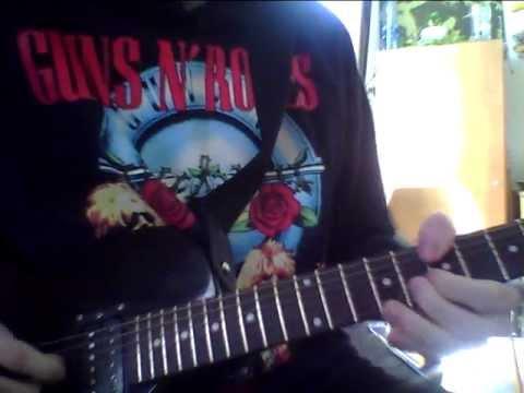 Slash – Apocalyptic Love Solo Guitar Cover