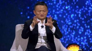 Jack Ma and Charlie Rose Gateway '17 Fireside Chat