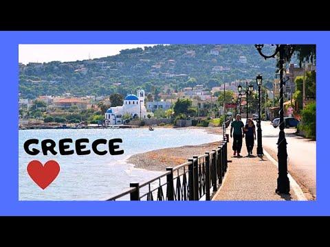 GREECE: ISLAND of SALAMINA (Σαλαμίνα) & the resort town of Selinia (Σελήνια)