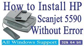 How to Install Auto Feeder HP 5590 I Pro 2000 I 4500 I 3000 S3 Windows XP, 7, 8.1, 10