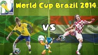 FIFA 14: Copa Do Mundo 2014 - Brasil X Croácia [Simulação] - Xbox One