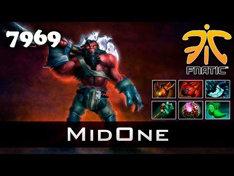 MidOne Axe - 7969 MMR Ranked Dota 2