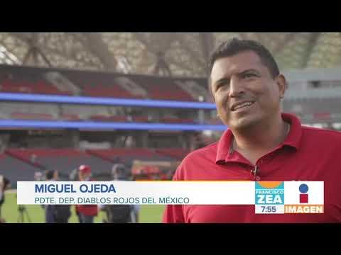 Los Diablos Rojos de México estrenan casa | Noticias con Francisco Zea