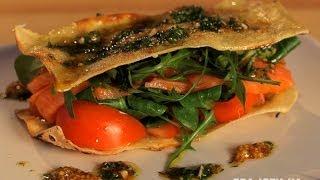 Как приготовить салат с лазаньей и лососем. Рецепт - Основной инстинкт. Выпуск 13