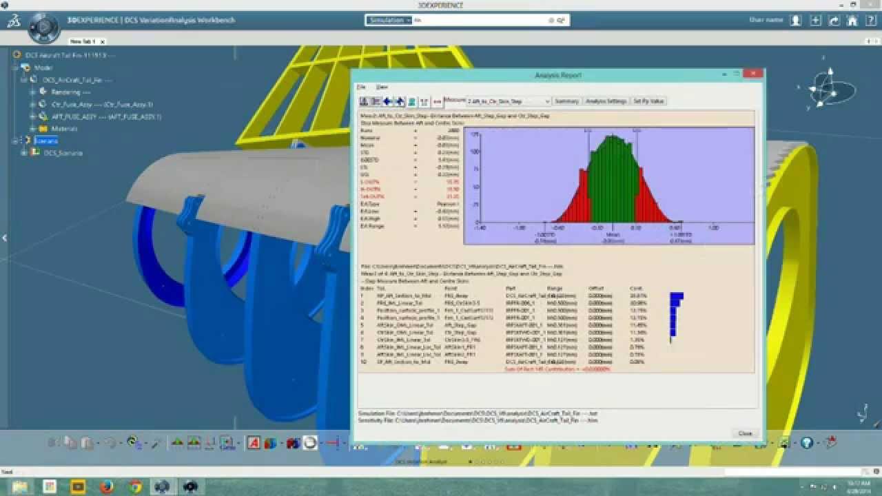 CATIA V5 Integrated Tolerance Analysis   DCS