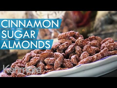 Cinnamon Sugar Coated Almonds Recipe: Snack Ideas from Kenmore