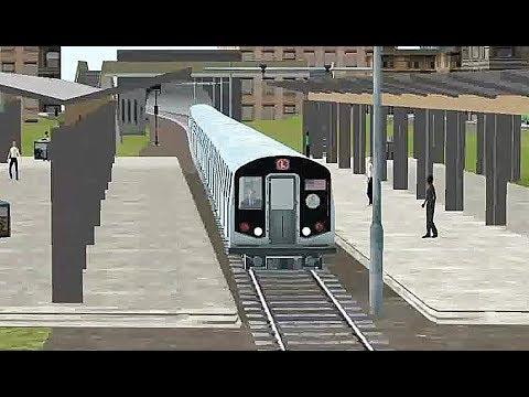 Train Sim - Metropolis Using R160 New York Subway - Simulasi Kereta Api |
